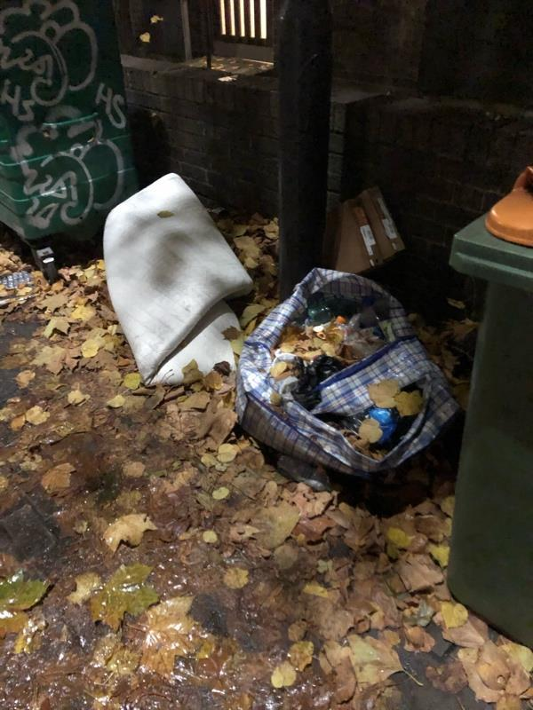 More fly tipping -35 Stopford Road, London, E13 0NA