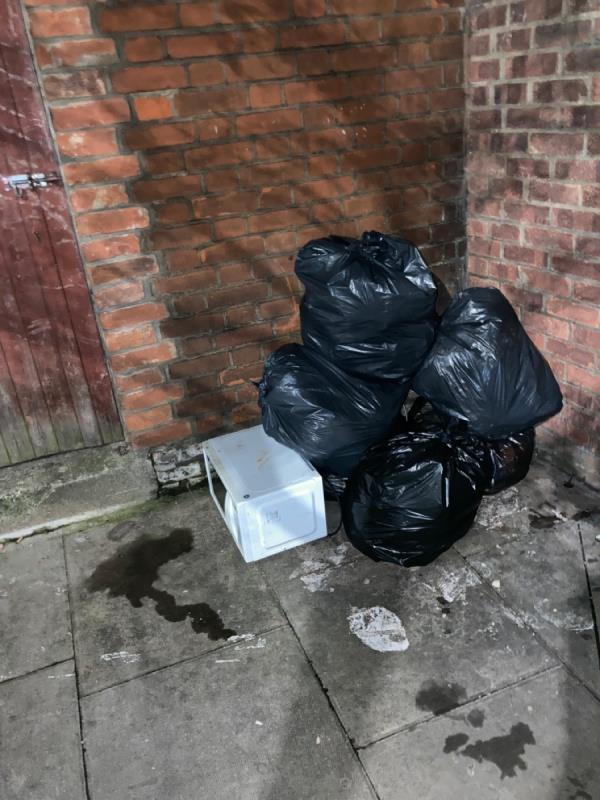 Rubbish bags, microwave-6 Boundary Road, Plaistow, E13 9PR