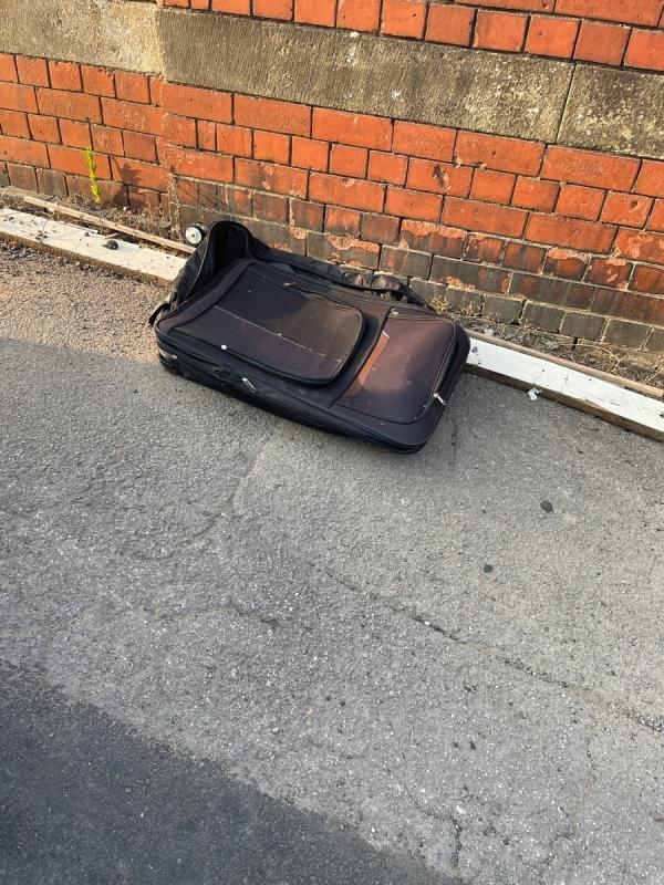Was just wood; addition of suitcase now.-195 Kimberley Road, Leicester, LE2 1LP
