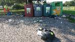 House old waste removedl fly tipping site agenral mess tied up glass etc  image 1-85 Church End Lane, Reading, RG30 4UN