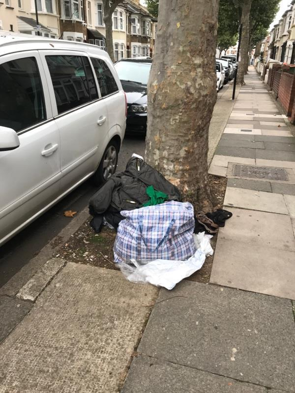 Fly tipping -57 Third Avenue, London, E12 6DX