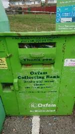 Clothing bank needs to be emptied. Shoe bank book bank needs to be emptied  image 2-28 Northbrook Road, Reading, RG4 6PF