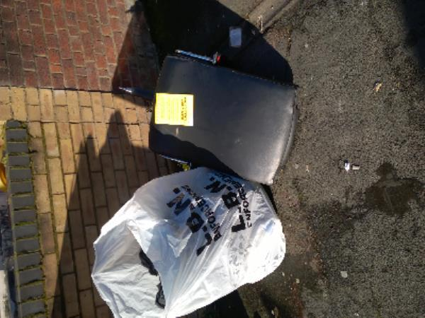 blacks bags checked no evidence and chair-47 Calverton Road, London, E6 2