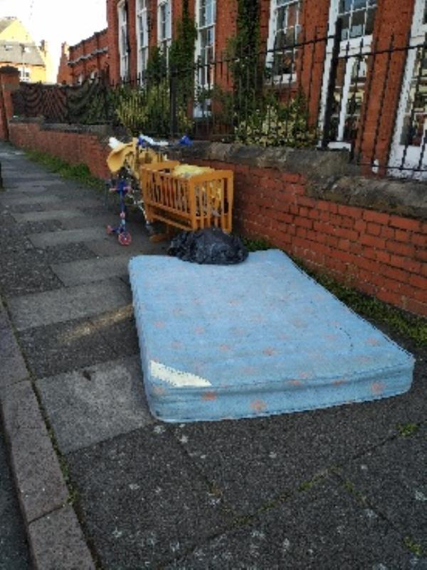 rubbish-22 Mantle Road, Leicester, LE3 5HG
