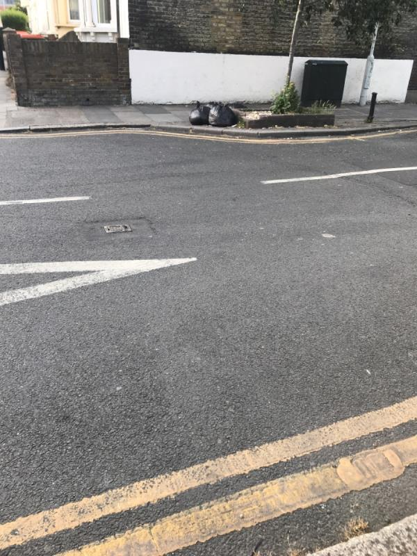 Rubbish dumped-24a Water Lane, London, E15 4NL