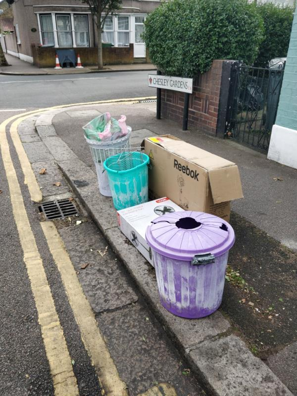 Boxes, bins-59 Haldane Road, London, E6 3JH