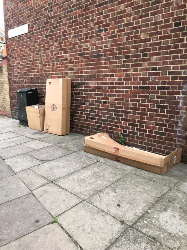Boxes -128 Plaistow Road, London, E15 3HL
