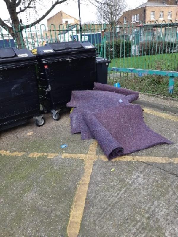 Charles House Love Lane, London, N17 8DB  dump rubbish -Charles House Love Lane, London, N17 8DB