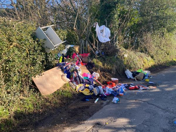Fly tipping -2A Northycote Ln, Wolverhampton WV10 7JE, UK