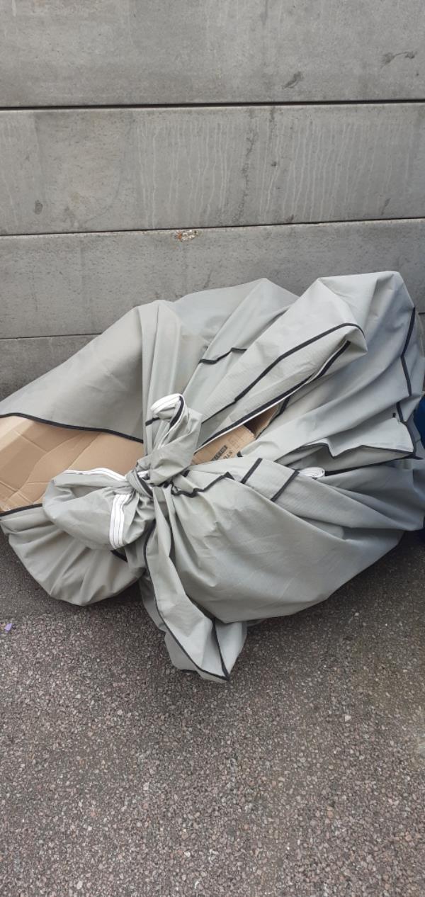 bag of cardboard -Brownflete House St Norbert Road, Brockley, SE4 2HH
