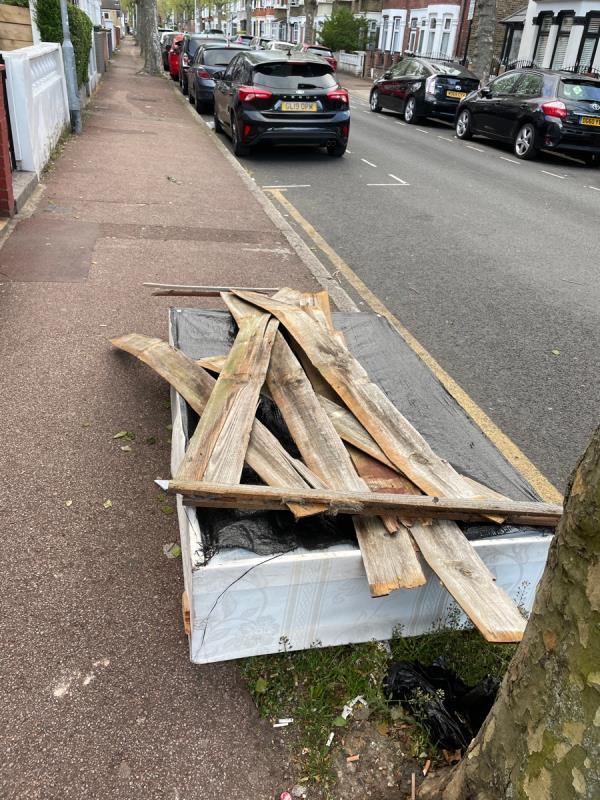 Rubbish -103 Shelley Avenue, Manor Park, E12 6PX