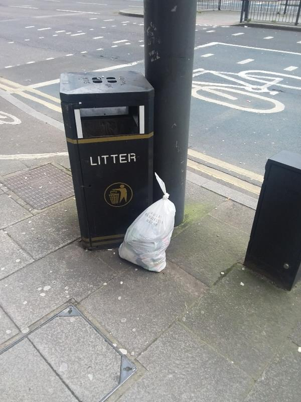 Fly-tipping-196 High Street, London, E15 2TF