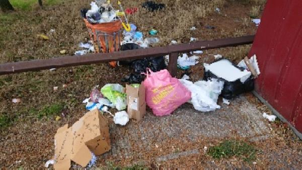 house old waste removedl fly tipping a mess -1 Neath Gardens, Reading, RG30 4UL