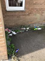 St Clement Court & Fosse Lane are a disgrace, it's disgusting, there's masks and gloves mixed in with the usual rubbish that the occupants of these flats leave all over the place. Should start dishing fines out for this 🤷🏻♀️ image 1-St. Clements Court, 94 Fosse Lane, Leicester, LE3 9AJ