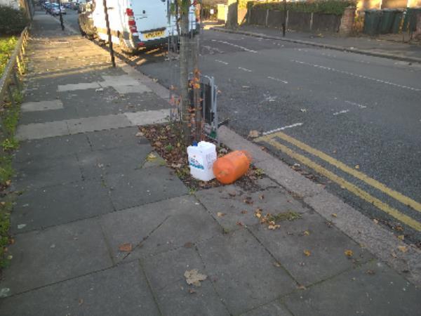 canister bottle-53a Grangewood Street, London, E6 1QP