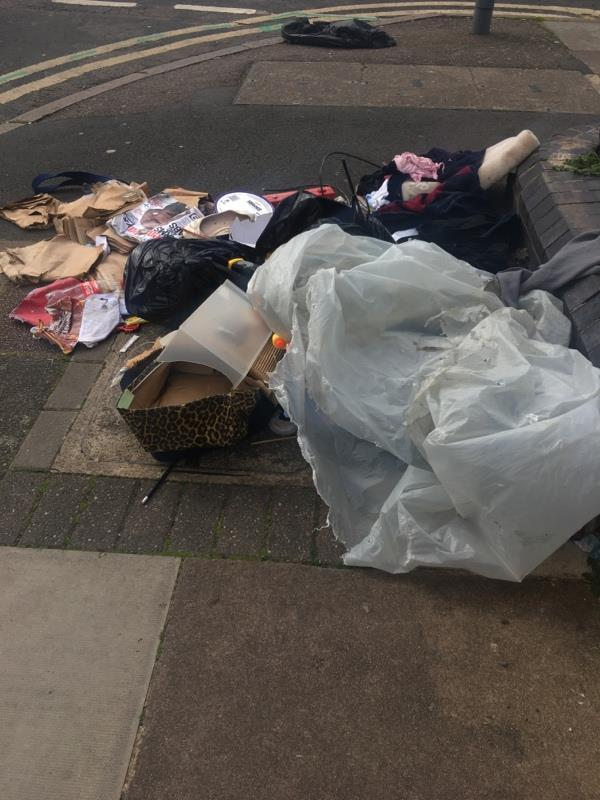 Dumping rubbish -66 Hopefield Road, Leicester, LE3 2BJ