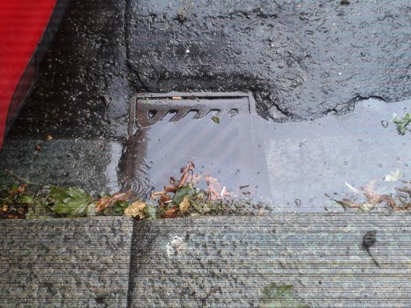 Drain Gully Blocked out side 106 / 108 Mount View Road, London N4-106 Mount View Road, London, N4 4JX