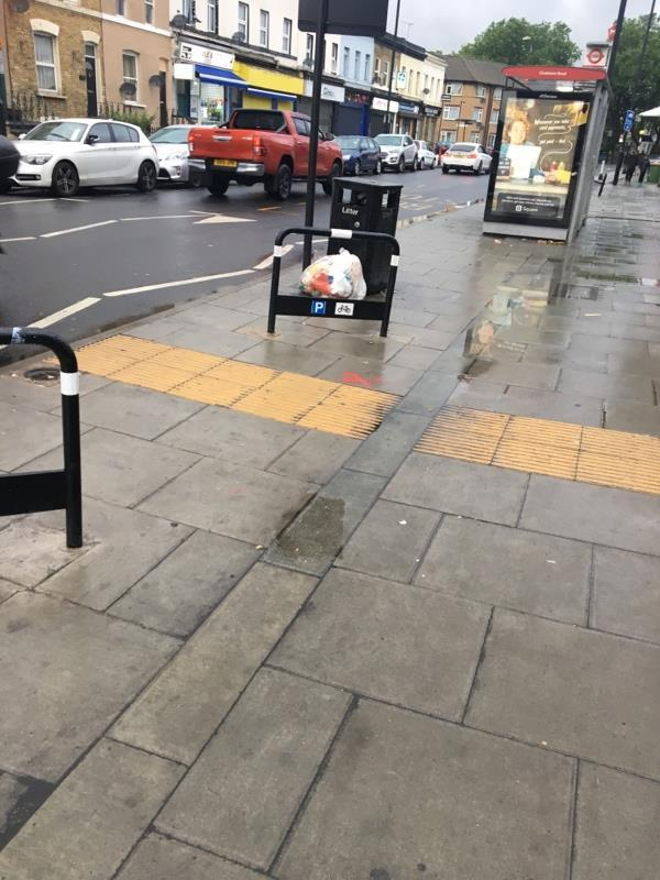 Flytipping -62A Leytonstone Rd, London E15 1SQ, UK