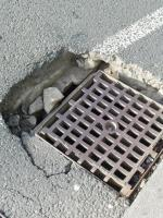 Drainage and road damaged at this location image 1-Great Eastern Road, London, E15 1XE