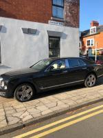 Cars regularly parking on the pavement- pub customers. -33 West Avenue, Leicester, LE2 1TS