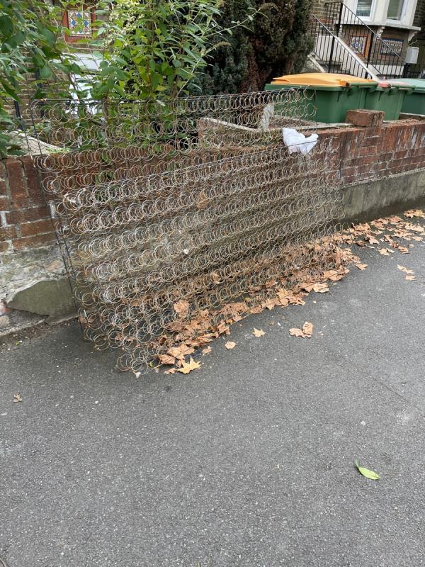 Wire mattress frame-88A Earlham Grove, London E7 9AR, UK