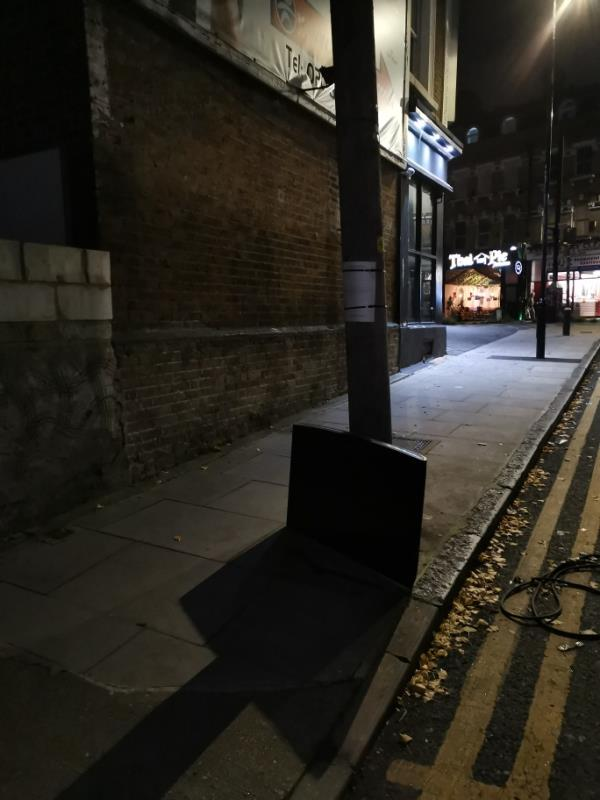 TV flytipped image 1-1a Manbey Park Road, London, E15 1EY