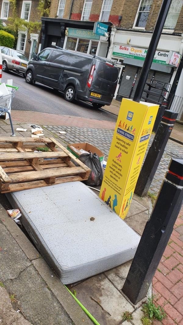 Dumped stuff-10a Upper Brockley Road, Honor Oak Park, SE4 1UU