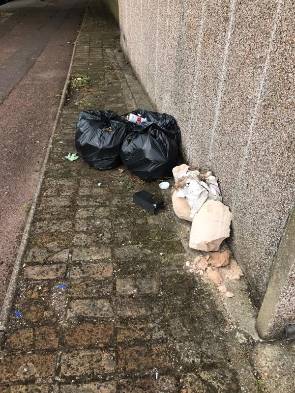 The black bags are enquire ENQ-125978459 which I had an email saying had been collected. -39 Devenay Road, London, E15 4BE