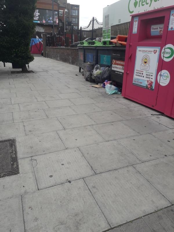 5 black bags-Henniker Point Leytonstone Road, London, E15 1JY