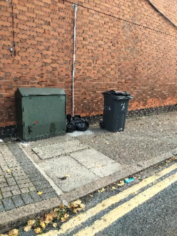 residents  fly tipping again on Ivy Road. probably now four times they've done this.-14a Ivy Road, Leicester, LE3 0DF