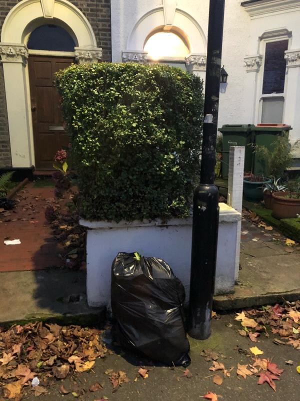 Bin bag-15 Clarence Road, Manor Park, E12 5BB