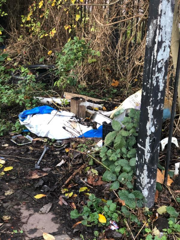 More dumping -90 Bonchurch Street, Leicester, LE3 5EE