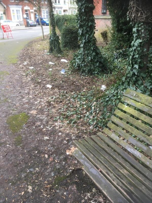 Evidence of more street drinking along with litter -10 Fosse Road Central, Leicester, LE3 5PU