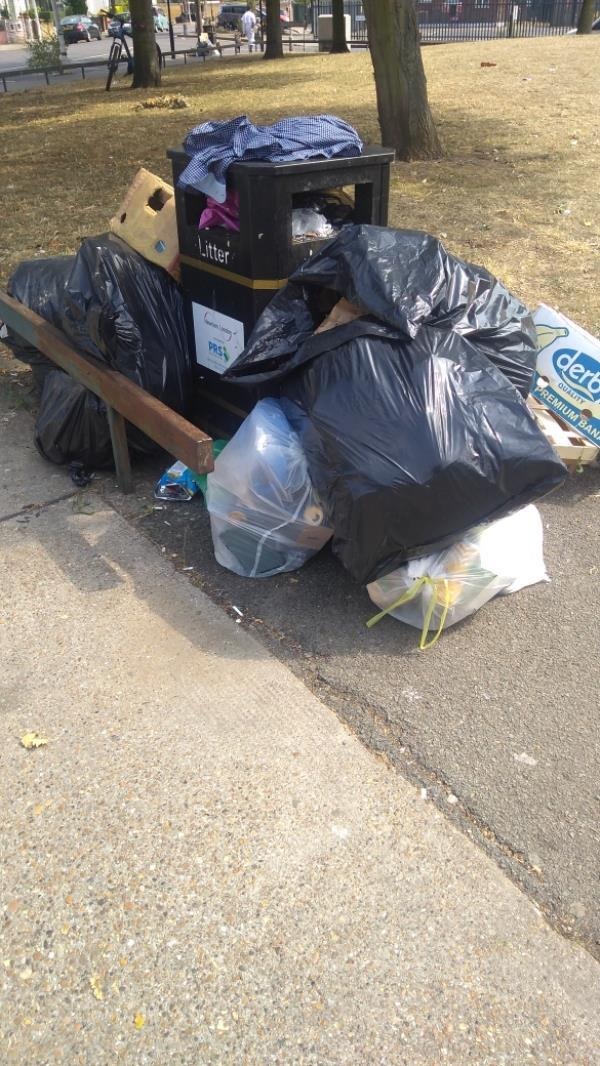 rubbish bags-1 Tunmarsh Lane, Plaistow, E13 9JX