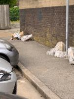 Fly tipped  image 1-42c Ashton Road, London, E15 1DP