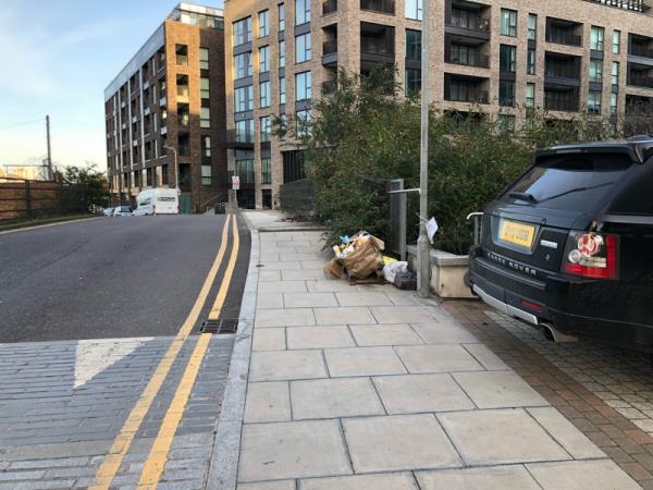 Fly tipping -1 Cooks Road, London, E15 2GR