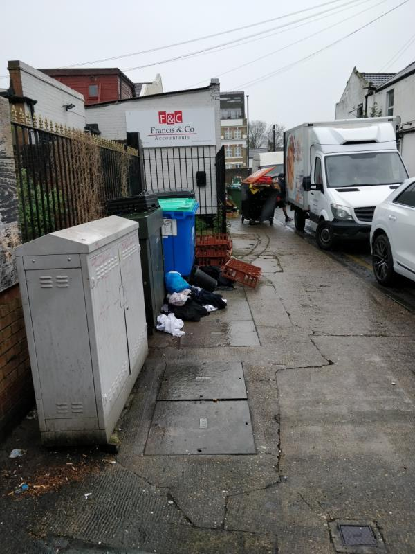 Flytipping-19 Francis Street, London, E15 1JG