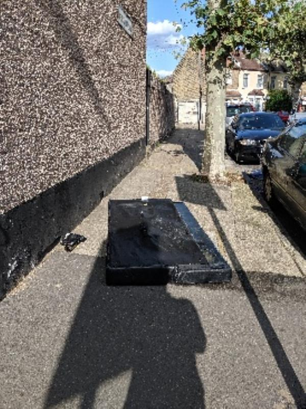fly tipping-15 Boundary Road, London, E13 9PS