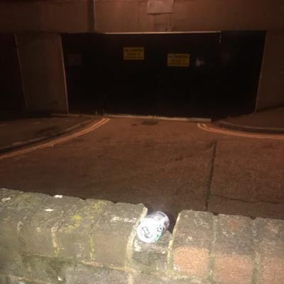 Litter that needs clearing. -30 Detmold Rd, Clapton, London E5 9NJ, UK