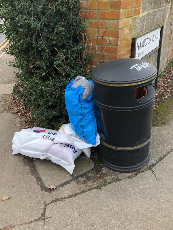 Household rubbish -23 Whiteknights Road, Reading, RG6 7BY
