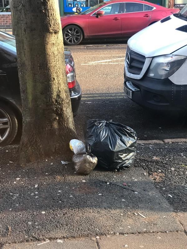 This fly tipping has been happening for a long time please help -52 Narborough Rd, Leicester LE3 0BR, UK