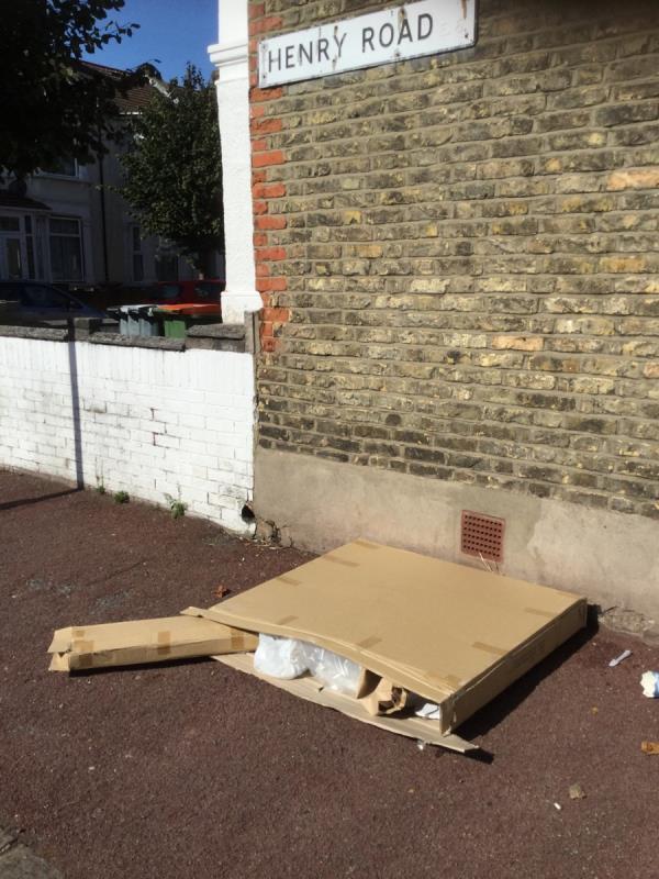 Footpath -1 Henry Road, East Ham, E6 3AH