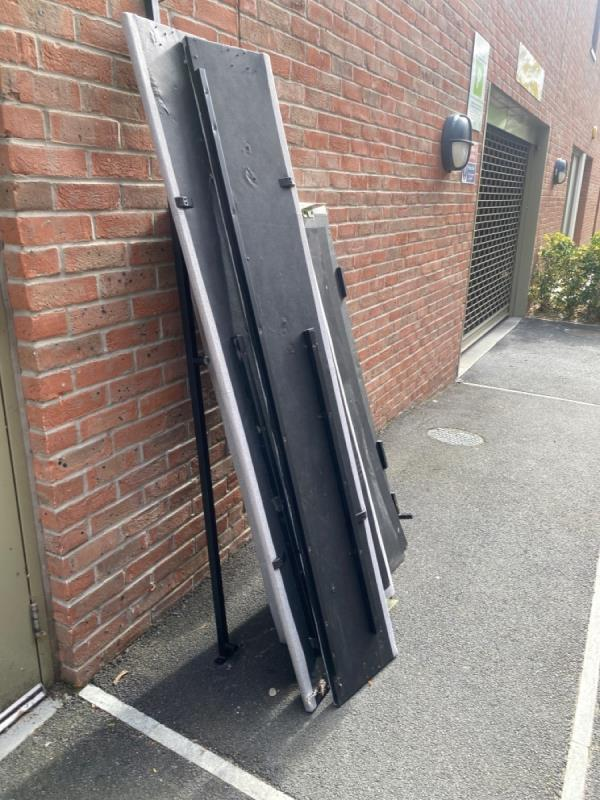 Fly tipping bed -40 Hammersley Road, Canning Town, E16 1UF