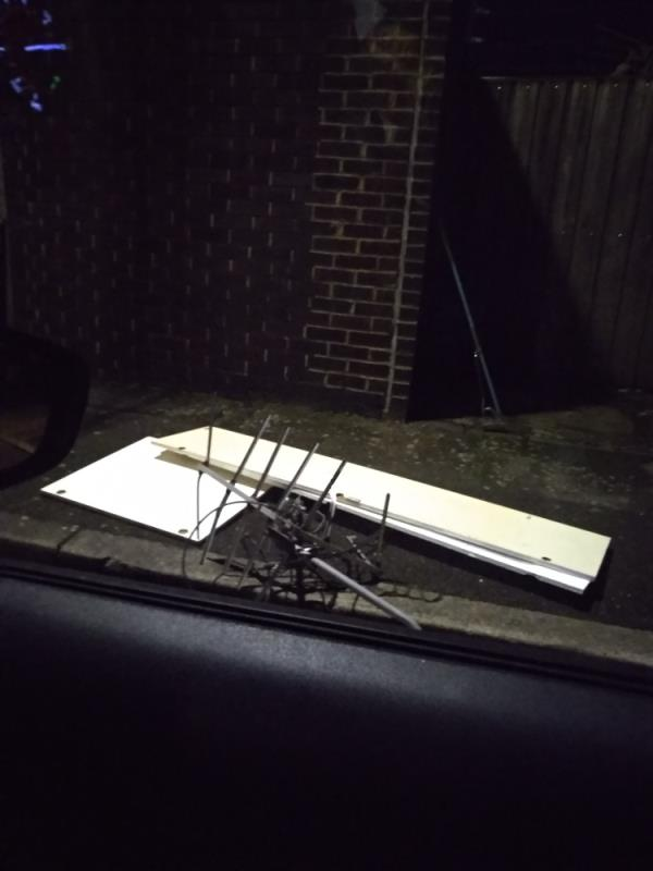 Dumped stuff again!-44 Ashton Road, London, E15 1DP
