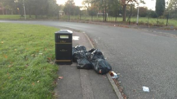 fourth time these people have flytipped Reg number YS03NYR -19 Haggar Street, Wolverhampton, WV2 3ET