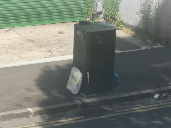 rubbish dumped -55b Frinton Road, East Ham, E6 3EZ