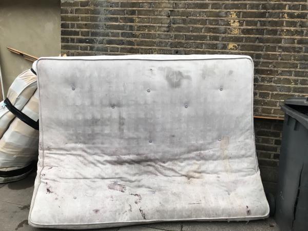 2 x mattresses Laleham Road jw Brownhill Road -94 Brownhill Road, London, SE6 2DH