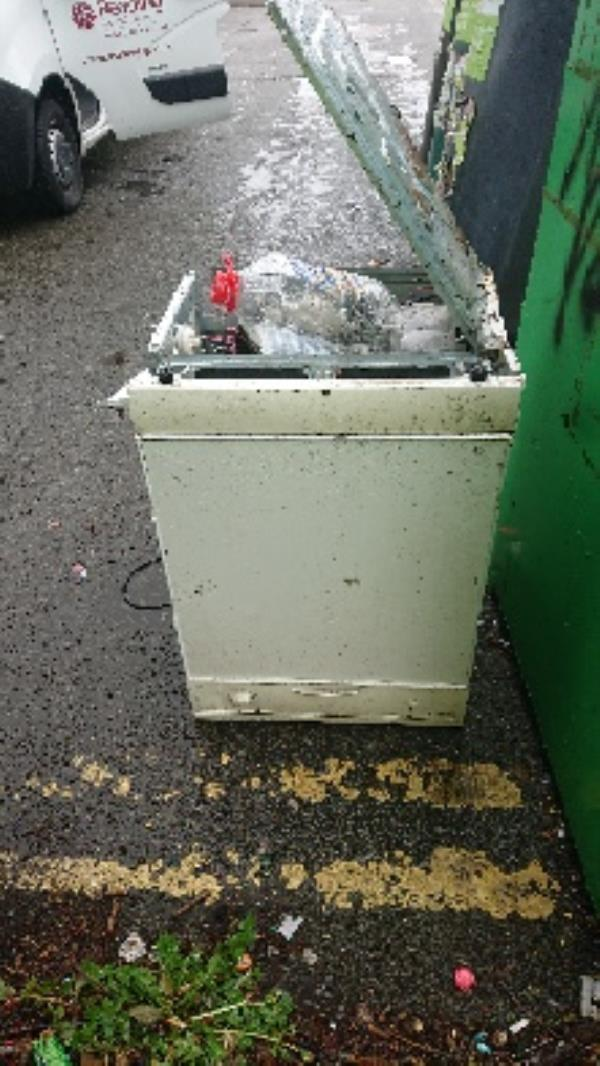 Dish washer 2man lifted needed to remove flytipping -31 Whitley Street, Reading, RG2 0EQ