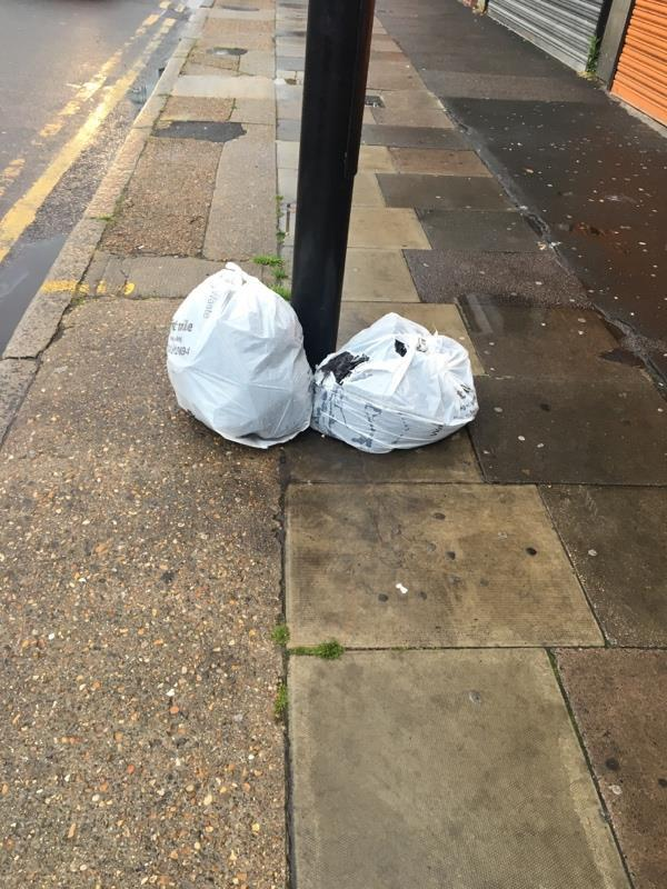 Flytipping -6 Leytonstone Rd, London E15 1SE, UK