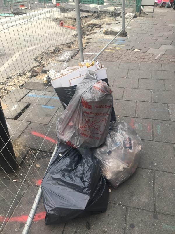 Flytipping -51a Leytonstone Road, London, E15 1JA